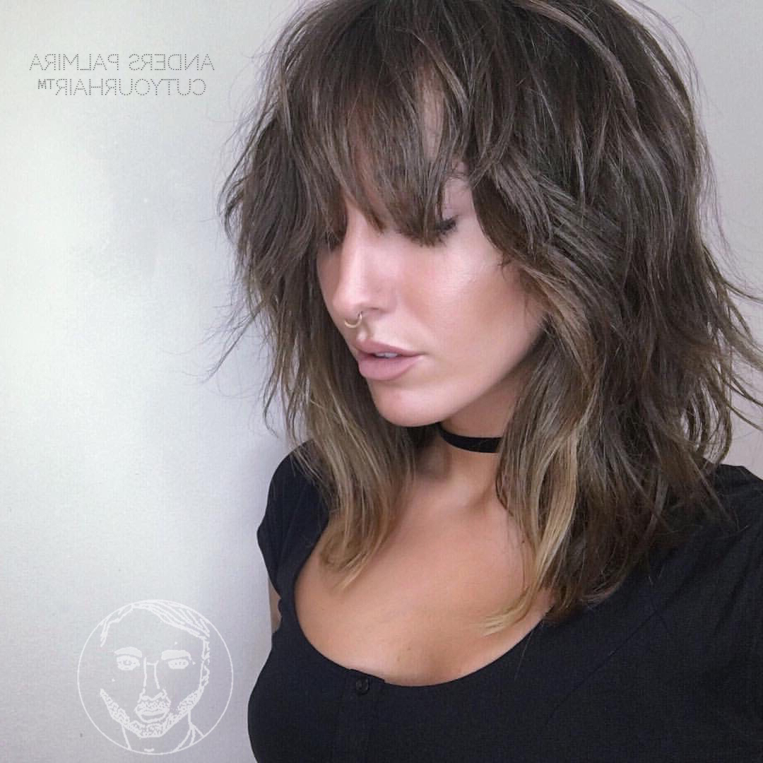 36 Stunning Hairstyles & Haircuts With Bangs For Short, Medium Long Intended For Short Haircuts With Longer Bangs (View 15 of 25)