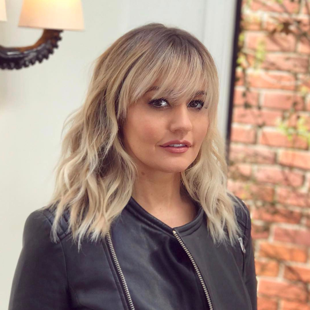 36 Stunning Hairstyles & Haircuts With Bangs For Short, Medium Long Throughout Short To Medium Haircuts (View 11 of 25)