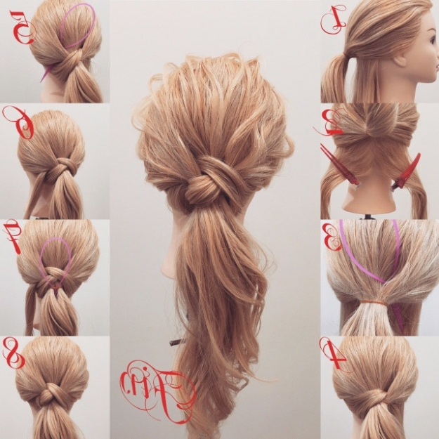 38 Glam Ponytail Tutorials – Page 4 Of 4 – The Goddess For Long Elegant Ponytail Hairstyles (View 24 of 25)