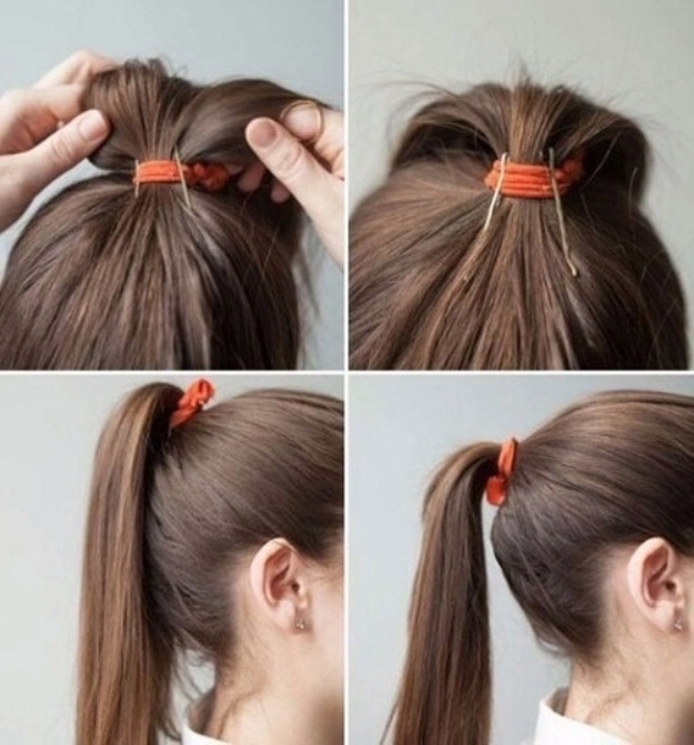 38 Glam Ponytail Tutorials – The Goddess Throughout Braided Glam Ponytail Hairstyles (View 7 of 25)