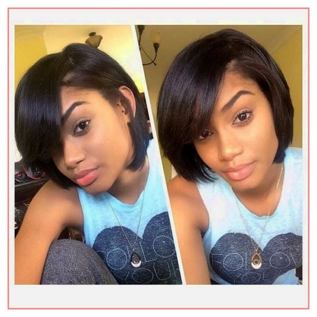 38 Perfect Protective Hairstyles For Short Relaxed Hair Image Throughout Short Haircuts For Relaxed Hair (View 17 of 25)