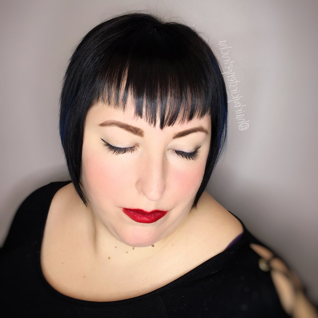 38 Short Hairstyles With Bangs That Are Just Brilliant Inside Short Haircuts With Long Side Bangs (View 15 of 25)