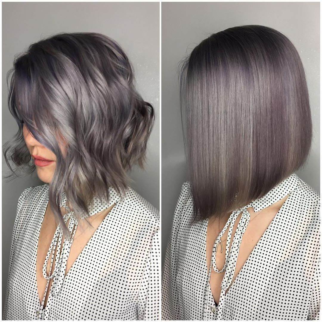 38 Super Cute Ways To Curl Your Bob – Popular Haircuts For Women 2017 Intended For Inverted Brunette Bob Hairstyles With Messy Curls (View 9 of 25)