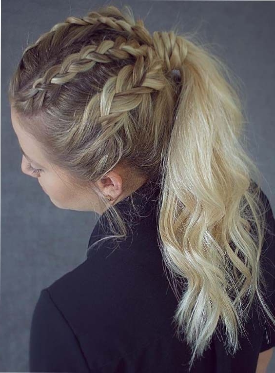 39 Beautiful Braided Ponytail Hairstyles For (View 7 of 25)