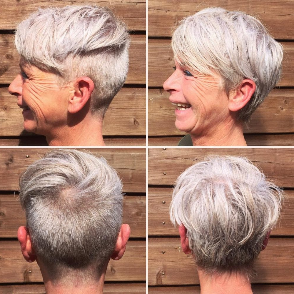 39 Classiest Short Hairstyles For Women Over 50 Of 2018 Regarding Over 50S Hairstyles For Short Hair (View 24 of 25)