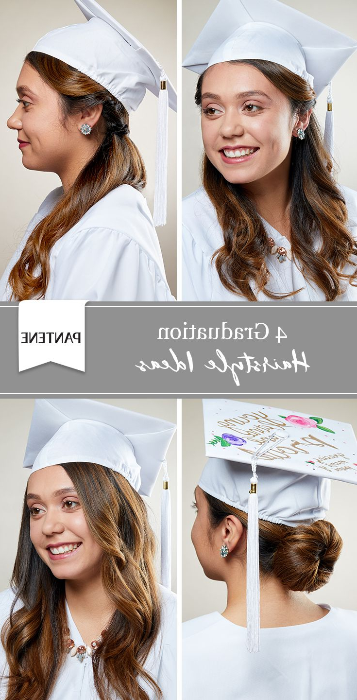 4 Graduation Cap Hairstyles (View 6 of 25)