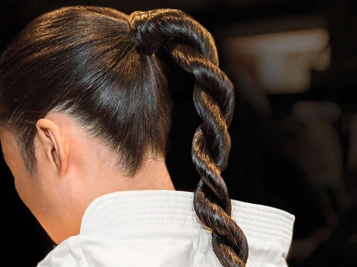 4 Steps To The Perfect Rope Braid | Self Within Straight Triple Threat Ponytail Hairstyles (View 17 of 25)