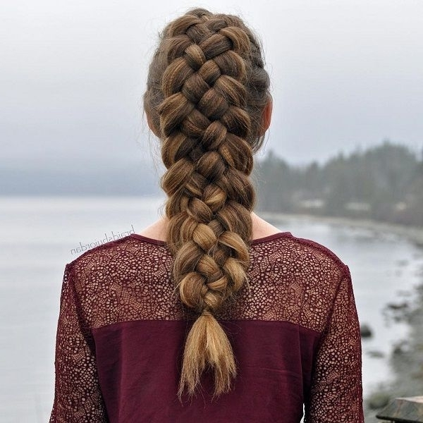 40 Adorable Braided Hairstyles You Will Love | Hair Style, Easy Hair Pertaining To Intricate And Adorable French Braid Ponytail Hairstyles (View 10 of 25)