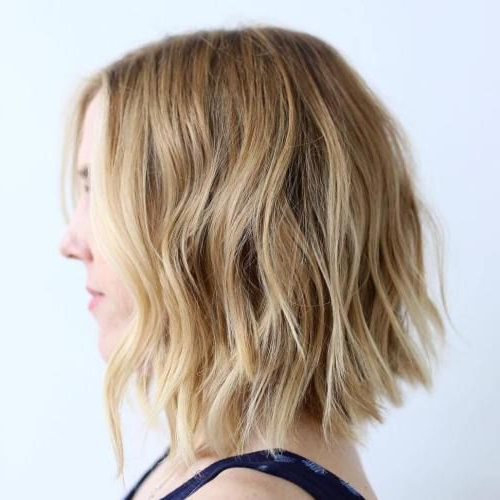 40 Banging Blonde Bob And Blonde Lob Hairstyles | Hair Stylee With Messy Honey Blonde Bob Haircuts (View 12 of 25)