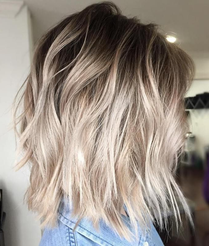 40 Beautiful Blonde Balayage Looks In 2018 | Favorite Blonde Hair Within Long Blonde Pixie Haircuts With Root Fade (View 2 of 25)