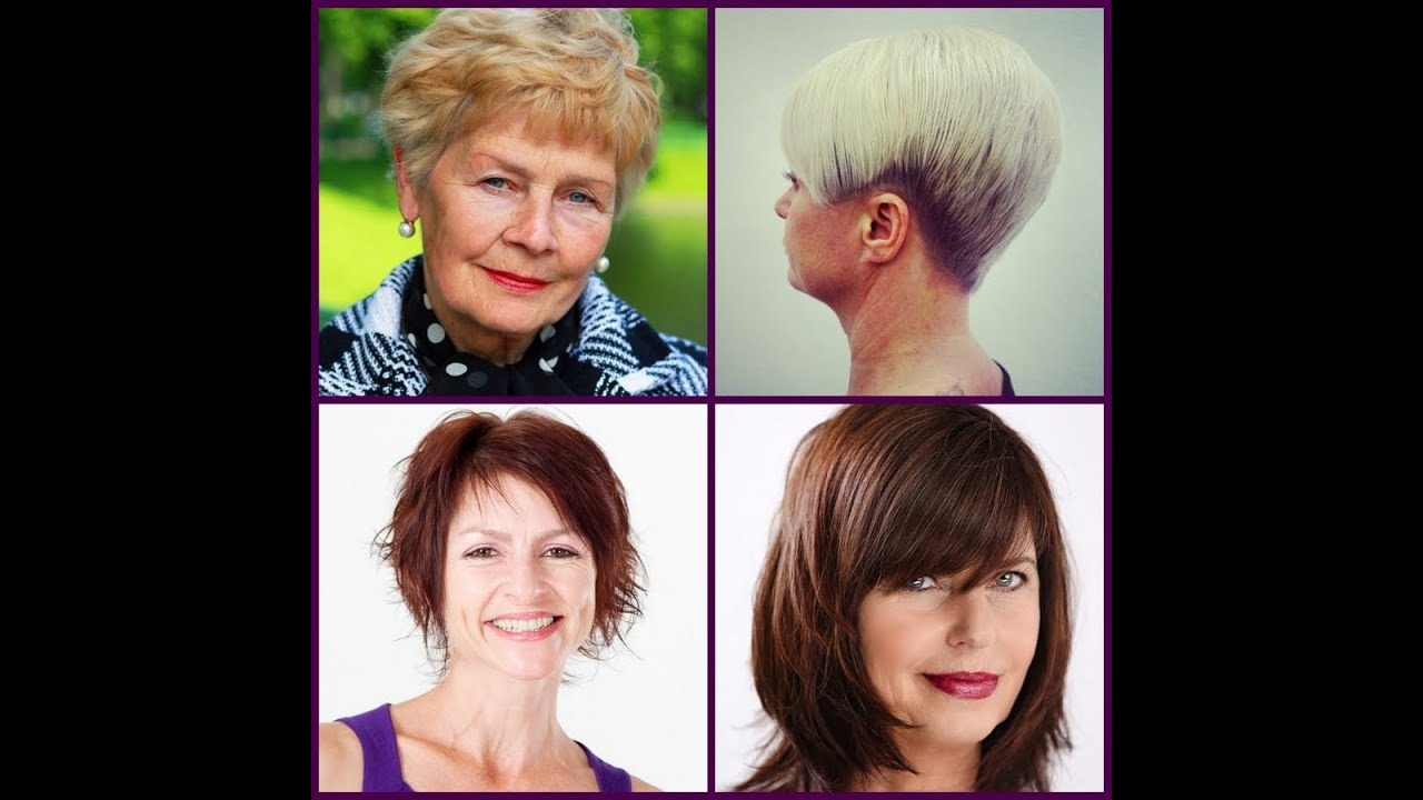 40 Best Hairstyles For Women Over 50 ! – Youtube Intended For Short Hairstyles For The Over 50S (View 25 of 25)