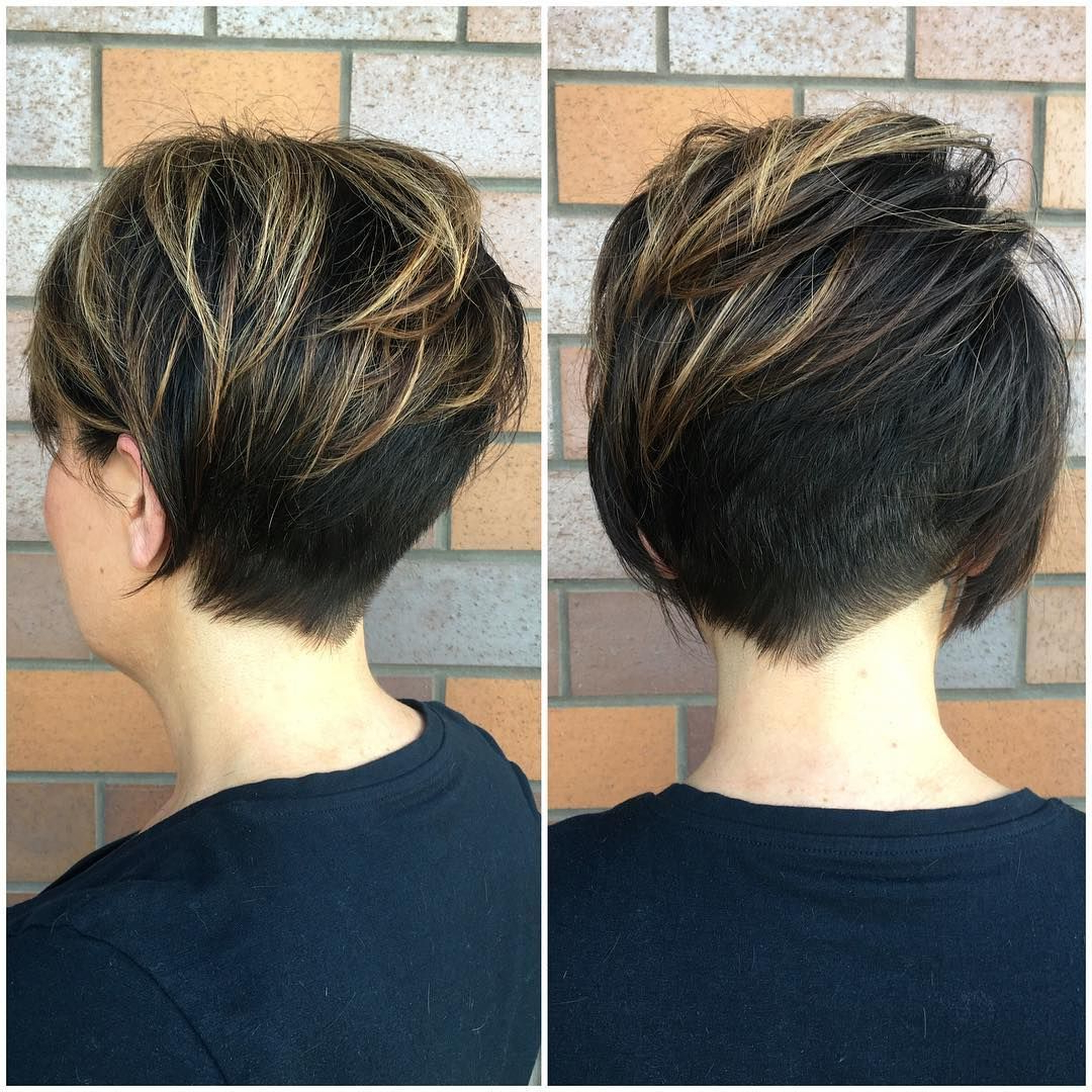 40 Best Short Hairstyles For Fine Hair 2018: Short Haircuts For Inside Short Hair Cut Designs (View 5 of 25)