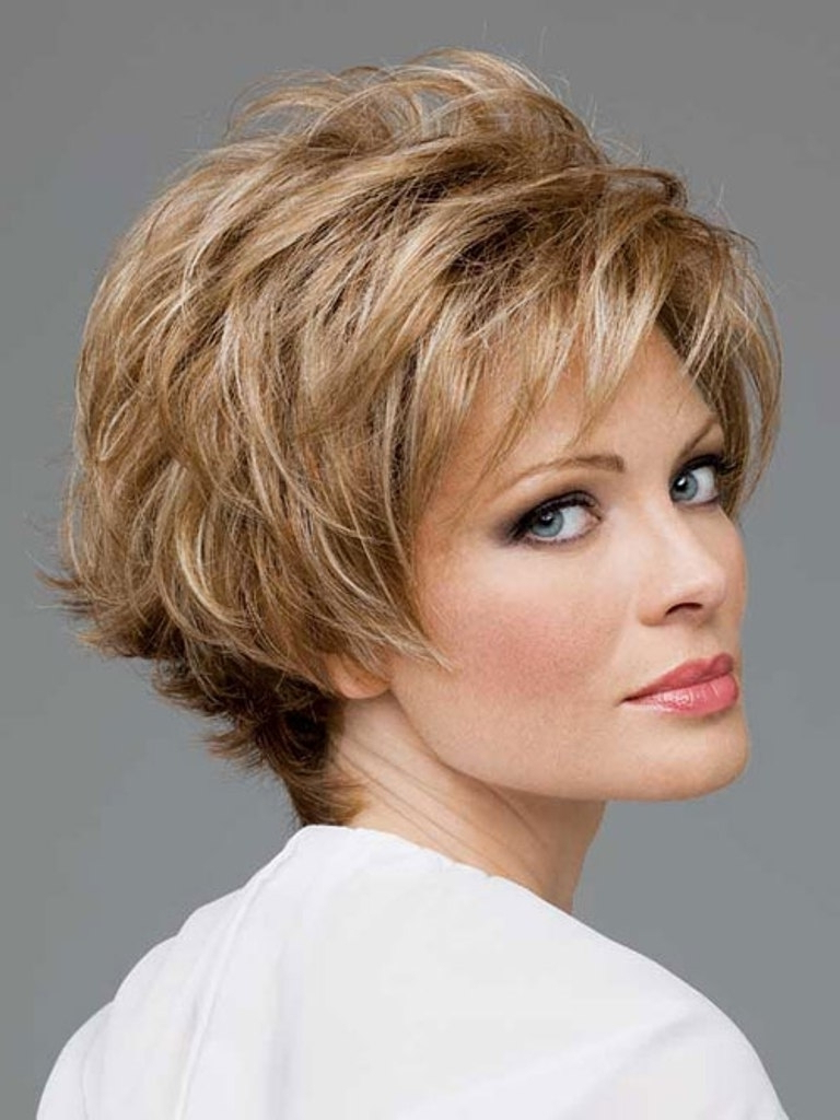 40 Best Short Hairstyles For Thick Hair 2018 – Short Haircuts For Within Short Cuts For Over (View 4 of 25)