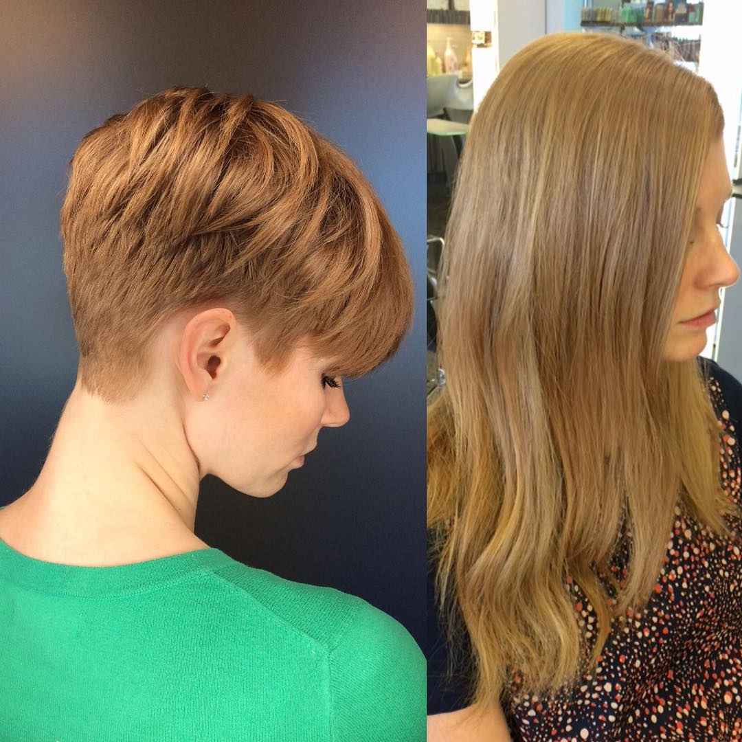 40 Cool And Contemporary Short Haircuts For Women – Popular Haircuts Inside Summer Short Haircuts (View 8 of 25)