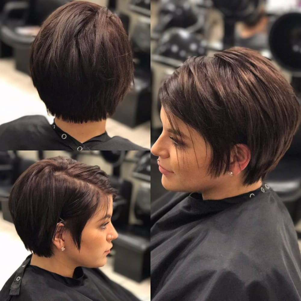 40 Cute Short Haircuts For Short Hair (Updated For 2018) Inside Dramatic Short Haircuts (View 8 of 25)