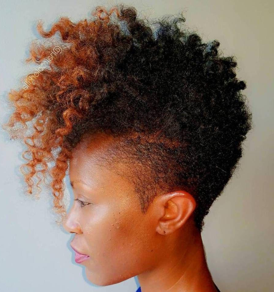 40 Cute Tapered Natural Hairstyles For Afro Hair Ideas Of Short Pertaining To Short Haircuts For Kinky Hair (View 18 of 25)