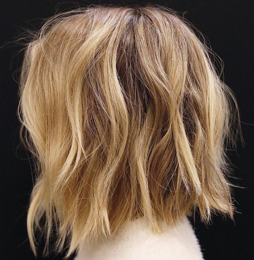 40 Fabulous Choppy Bob Hairstyles – Page 17 Of 41 – Fallbrook247 Within Messy Honey Blonde Bob Haircuts (View 5 of 25)