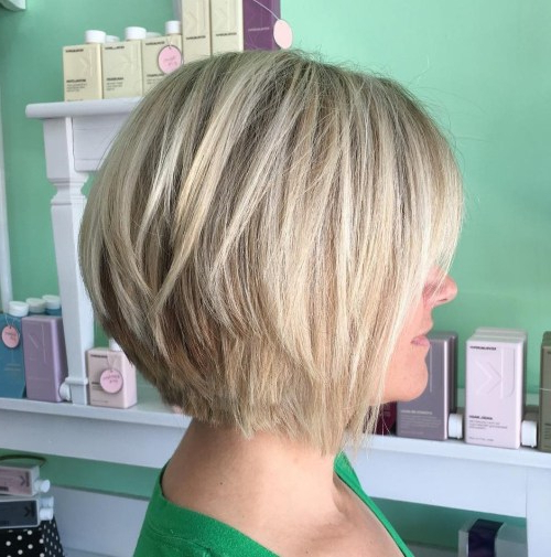 40 Fabulous Choppy Bob Hairstyles – Page 18 Of 41 – Fallbrook247 Throughout Ash Blonde Bob Hairstyles With Feathered Layers (View 4 of 25)