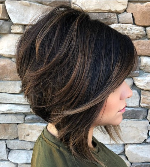 40 Fabulous Choppy Bob Hairstyles – Page 25 Of 41 – Fallbrook247 With Regard To Inverted Bob Hairstyles With Swoopy Layers (View 20 of 25)