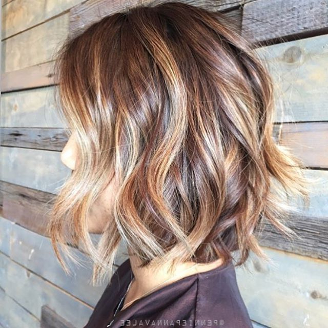 40 Hottest Bob Hairstyles & Haircuts 2019 – Inverted, Mob, Lob For Balayage Bob Haircuts With Layers (View 21 of 25)
