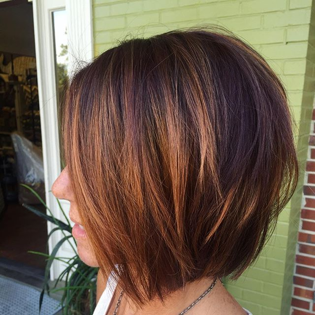Featured Photo of Razored Brown Bob Hairstyles