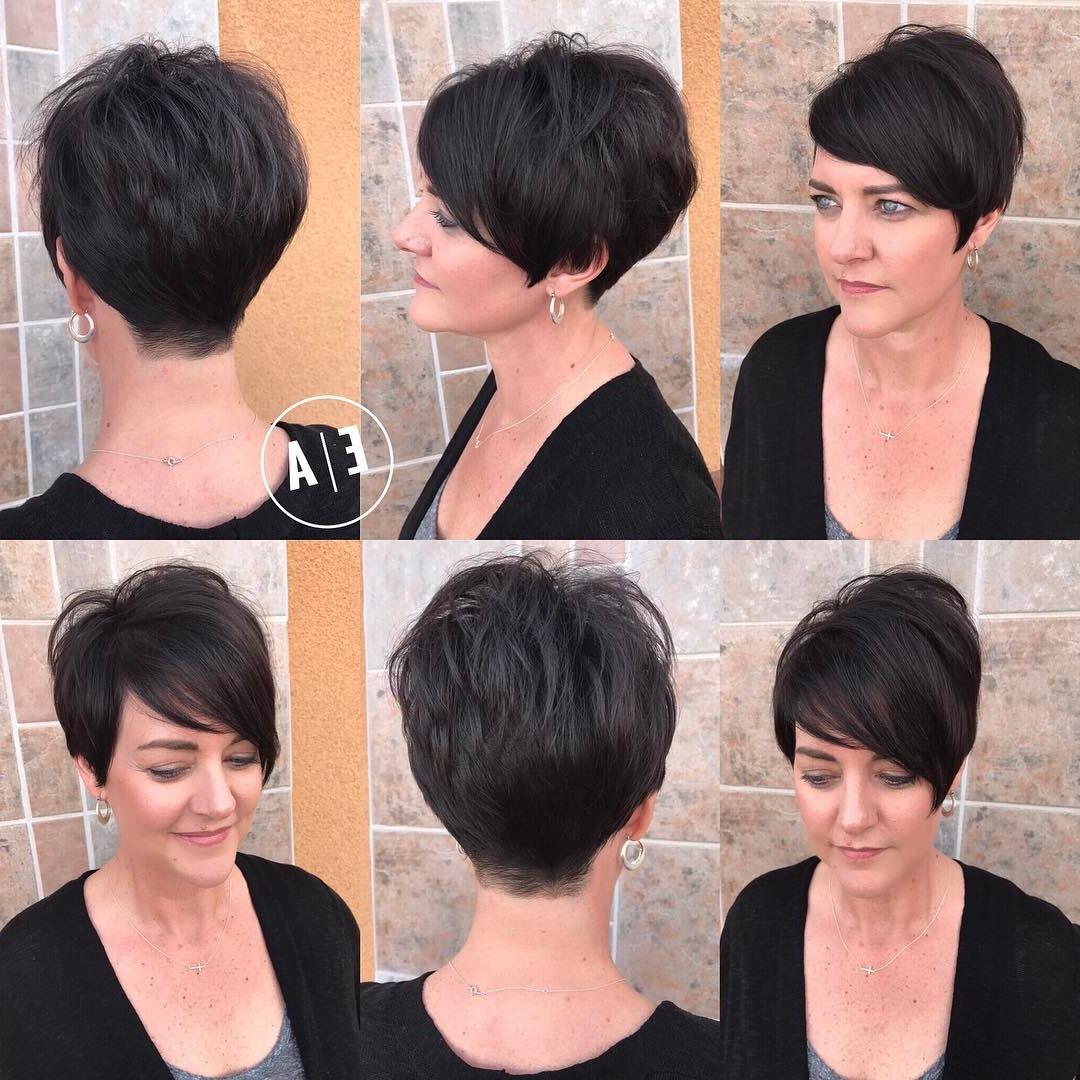 40 Hottest Short Hairstyles, Short Haircuts 2018 – Bobs, Pixie, Cool Regarding Short Haircuts For Different Face Shapes (View 7 of 25)