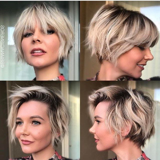 40 Hottest Short Wavy, Curly Pixie Haircuts 2018 – Pixie Cuts For Throughout Stylish Grown Out Pixie Hairstyles (View 20 of 25)