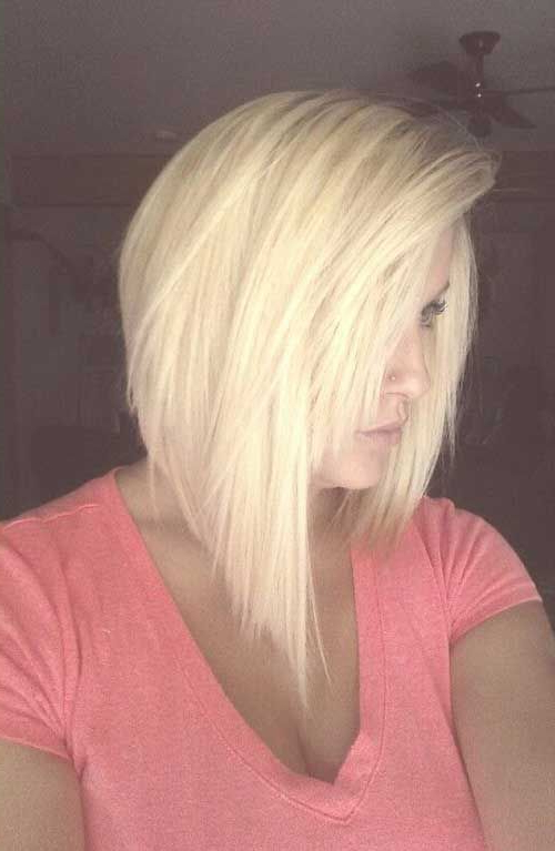 40 Inverted Bob Hairstyles You Should Not Miss » Page 5 Of 5 Inside Short Blonde Inverted Bob Haircuts (View 16 of 25)