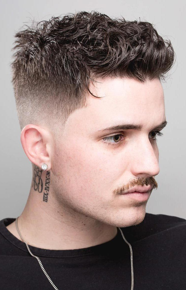 40 Modern Men's Hairstyles For Curly Hair (That Will Change Your With Undercut Hairstyles For Curly Hair (View 23 of 25)