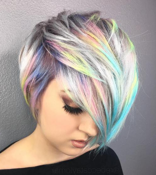 40 Of The Best Pixie Haircuts With Bangs – Page 16 Of 40 – Fallbrook247 For Asymmetrical Unicorn Bob Haircuts (View 11 of 25)