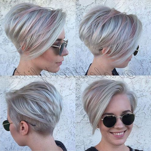 40 Of The Best Pixie Haircuts With Bangs – Page 2 Of 40 – Fallbrook247 Inside Two Tone Curly Bob Haircuts With Nape Undercut (View 17 of 25)