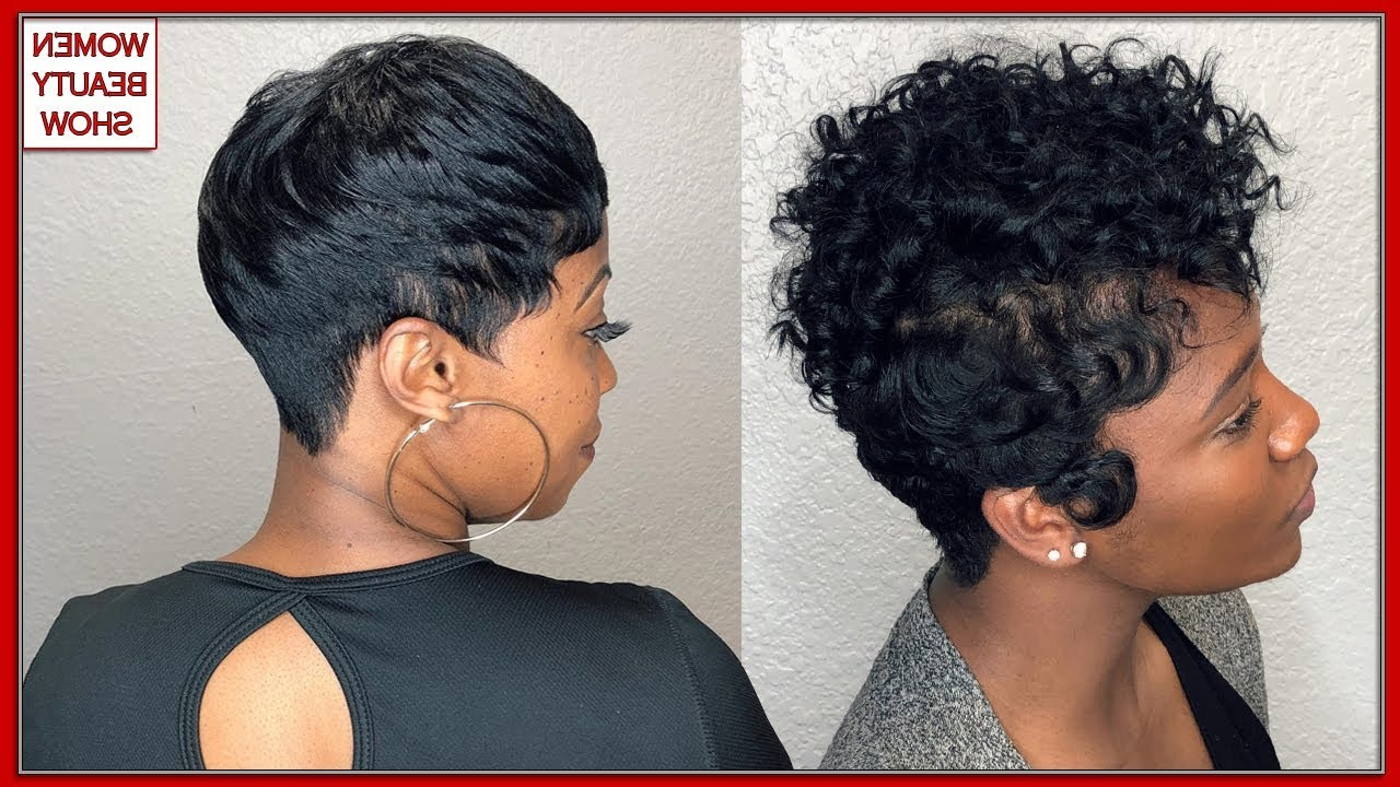40 Short Haircuts For Black Women With Short Hair – Short Hairstyles Within African American Short Haircuts For Round Faces (View 13 of 25)