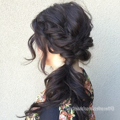 40 Side Ponytails That You Will Love – Page 16 – Foliver Blog Intended For Tangled And Twisted Ponytail Hairstyles (View 8 of 25)