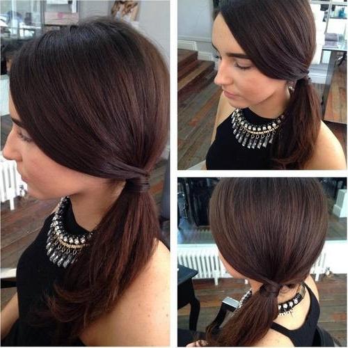 Featured Photo of Sleek Ladylike Ponytail Hairstyles