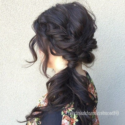 40 Side Ponytails That You Will Love | When That Day Comes With Messy Side Ponytails (View 3 of 25)