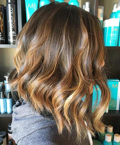 41 Best Inverted Bob Hairstyles | Page 2 Of 4 | Stayglam Intended For Messy Shaggy Inverted Bob Hairstyles With Subtle Highlights (View 9 of 25)