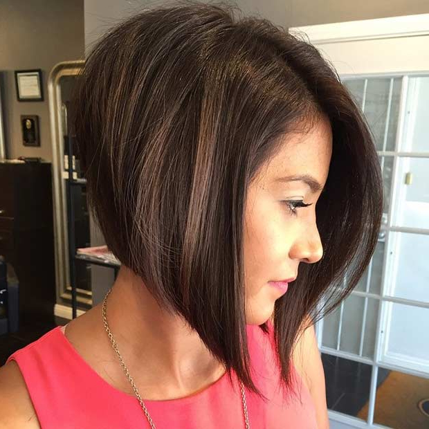 41 Best Inverted Bob Hairstyles | Page 2 Of 4 | Stayglam With Black Inverted Bob Hairstyles With Choppy Layers (View 13 of 25)