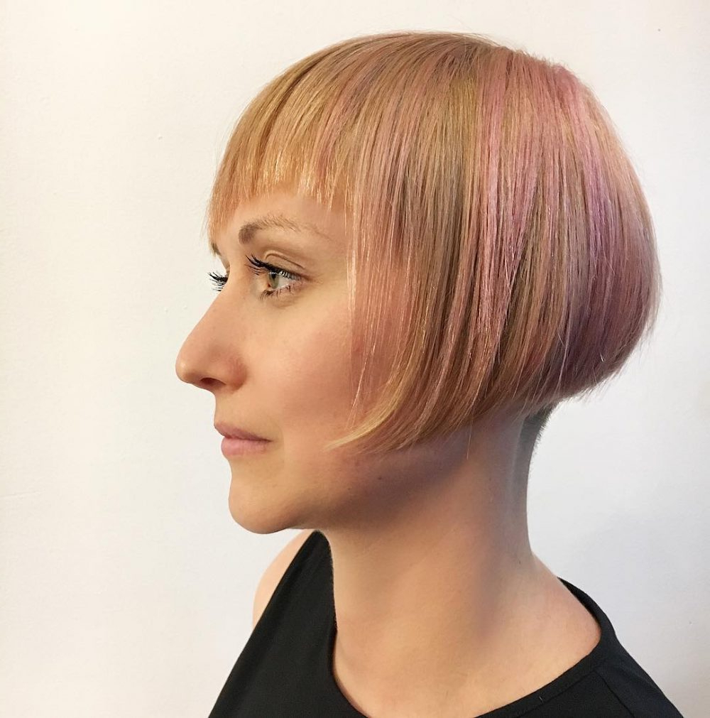 42 Sexiest Short Hairstyles For Women Over 40 In 2018 In Ladies Short Hairstyles With Fringe (View 8 of 25)