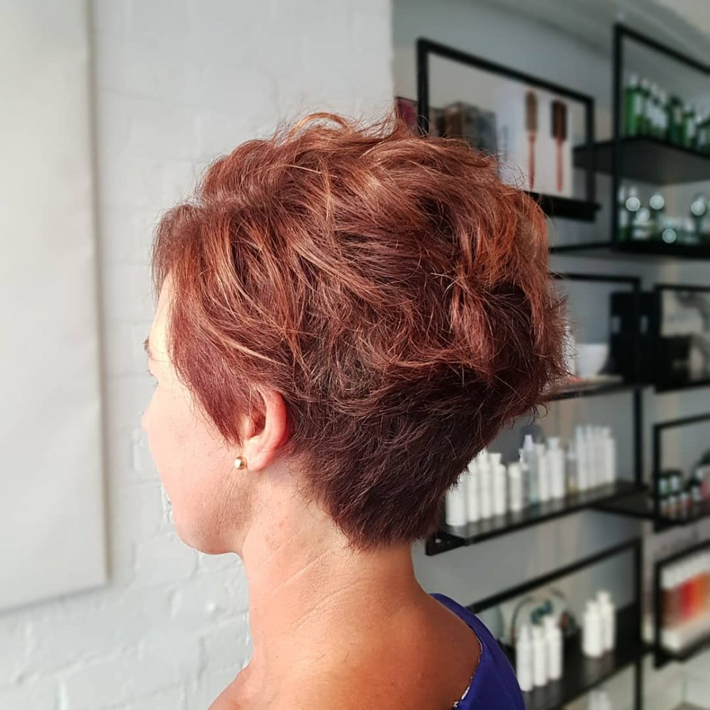 42 Sexiest Short Hairstyles For Women Over 40 In 2018 With Short Funky Hairstyles For Over  (View 14 of 25)