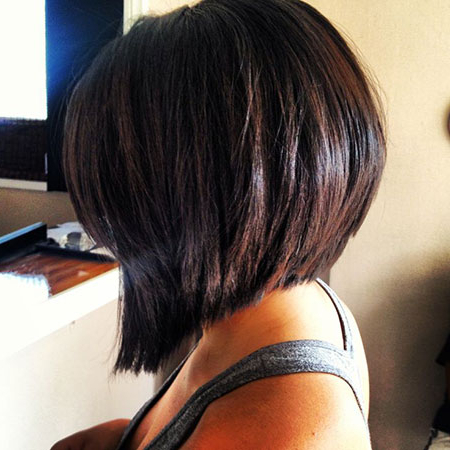 42 Stylish Angled Bob Haircuts   Hairstylo In Angled Bob Hairstyles (View 17 of 25)