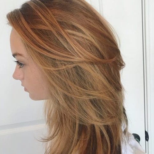 43 Cutest Long Layered Haircuts Trending In 2018 Within Long Feathered Espresso Brown Pixie Hairstyles (View 9 of 25)