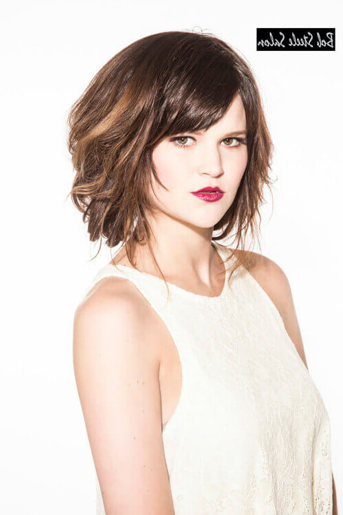 43 Greatest Wavy Bob Hairstyles – Short, Medium And Long In 2018 For Tousled Beach Bob Hairstyles (View 16 of 25)