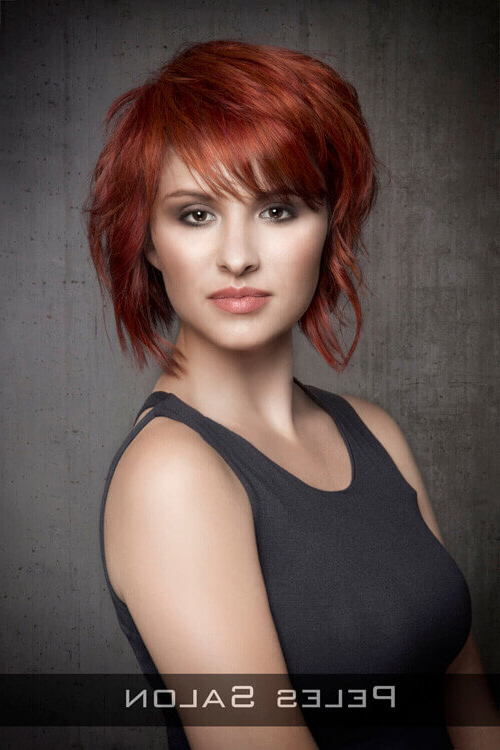 43 Perfect Short Hairstyles For Fine Hair In 2018 Pertaining To Sexy Pixie Hairstyles With Rocker Texture (View 7 of 25)