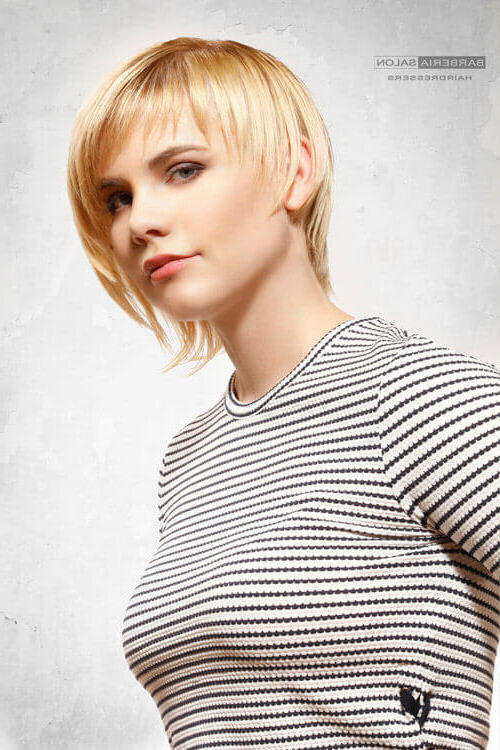 43 Perfect Short Hairstyles For Fine Hair In 2018 Pertaining To White Blonde Bob Haircuts For Fine Hair (View 14 of 25)