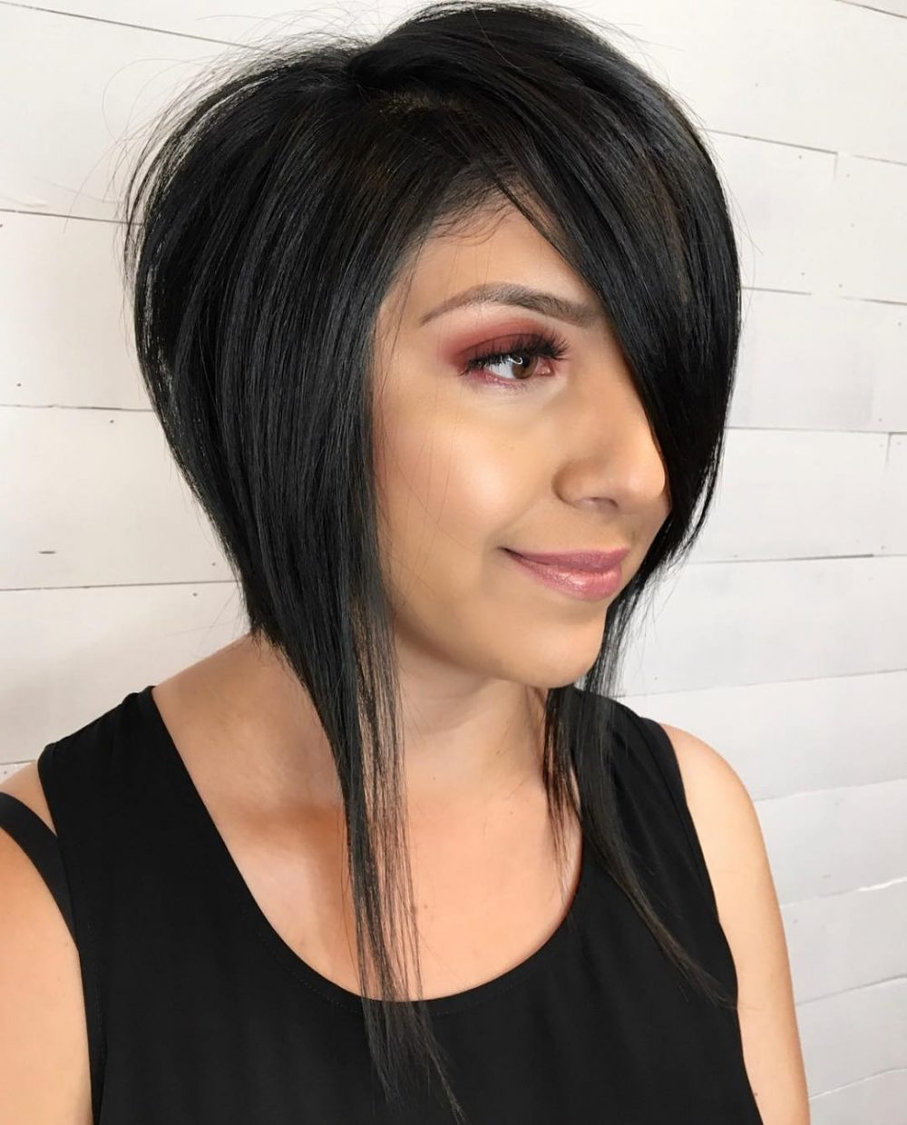 43 Perfect Short Hairstyles For Fine Hair In 2018 Within Short Haircuts With One Side Shaved (View 3 of 25)