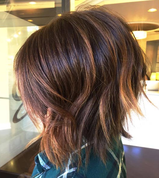 43 Picture Perfect Textured Bob Hairstyles – Style Skinner Throughout Razored Brown Bob Hairstyles (View 10 of 25)