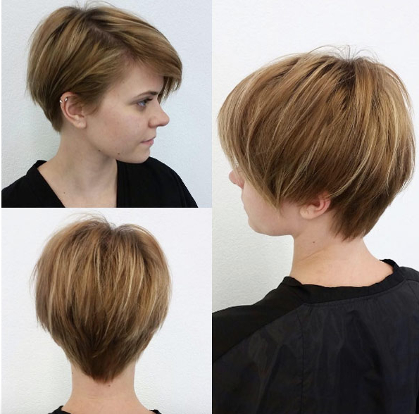 Featured Photo of Stylish Grown Out Pixie Hairstyles