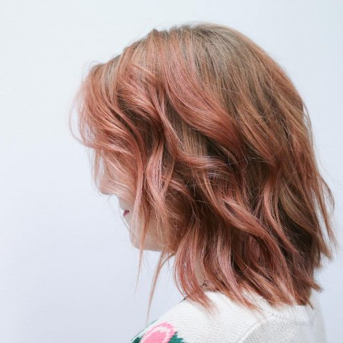 45 Chic Choppy Bob Hairstyles For 2018 Within Disheveled Brunette Choppy Bob Hairstyles (View 17 of 25)