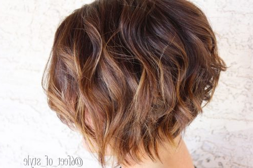 45 Chic Choppy Bob Hairstyles For 2018 Within Disheveled Brunette Choppy Bob Hairstyles (View 14 of 25)