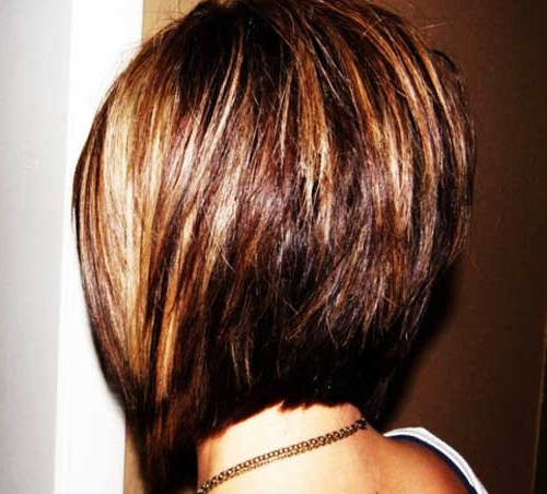 45 Flawless Short Stacked Bobs To Steal The Focus Instantly Intended For Stacked Bob Hairstyles With Highlights (View 17 of 25)